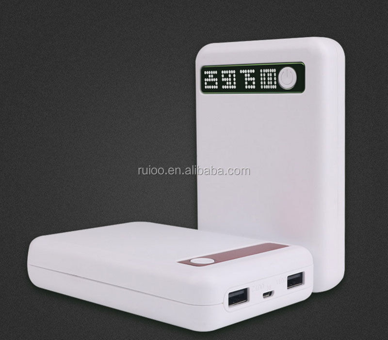 power bank 10000 mah with dual USB hot selling power bank portable charger 10000 mah smart power bank 10000mah