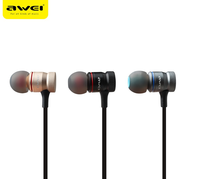 Awei ES-70TY stereo sports headphones 3.5MM with in-ear headphones computer mobile phone MP3 MP4
