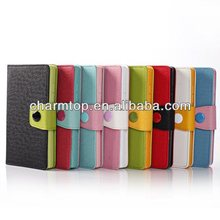 Contrast Color Leather Stand Case For Nokia XL