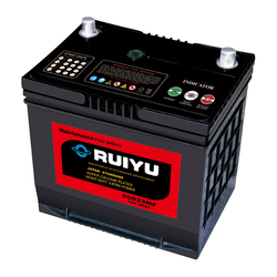 12v 60ah Dry charged car Batteries/mainteanace free Car battery DIN