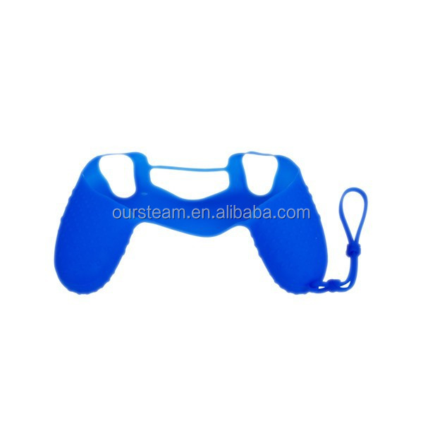 Blue Silicone Cover For Ps4 Rubber Case For PS4 Controller