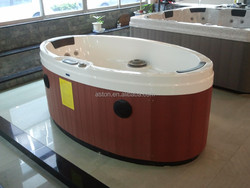 fiberglass hot tub shells/mini spa 1-2 people spa pool/sex body massage hot tubs