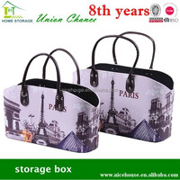 pvc shopping bag, luxury shopping bag,also storage your stuffs when you at home,fashion design
