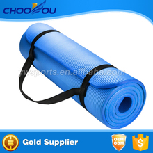 Extra Thick and Long Comfort Foam Yoga/Exercise Mat with Carrying Strap