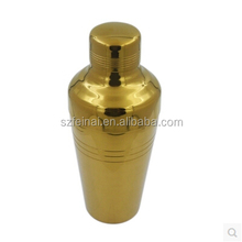 510ml Japanese Style Gold Stainless Steel Cocktail Shaker,Bar Tools