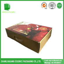custom logo print cardboard recycle packaging box carton for fruit packaging