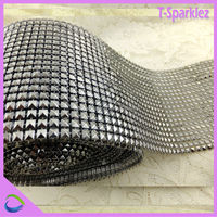 24 Lines Trimming Mesh Netting Rhinestone Mesh Roll Wholesale