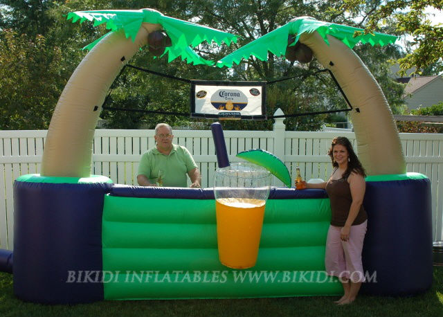 Inflatable AIR bar, inflatable tent for rental K5011