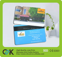 Hotel Membership Card with Magnetic Strip/Restaurant Vip card