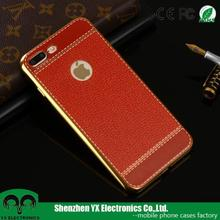 UV printing leather soft TPU 3d sublimation phone case for iphone 7 plus