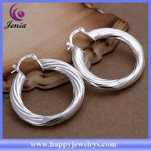latest design!new coming products hot selling earings silver wholesale CE156