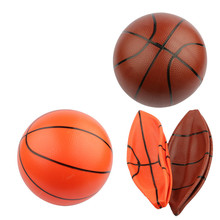 Hot sale 12cm14cm16cm25cm PVC material plastic toy balls sports style toy balls