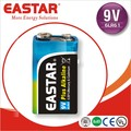 OEM China Manufacturer Cheap 6LR61 9V 1.5V Alkaline Battery