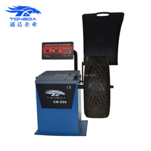 Tongda CE Approved Cheap wheel balancer CB-550 Best Price motorcycle wheel balancer on sale made in China
