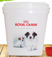 Personalized 40L Bird/dog/cat airtight pet food container - Container Airtight