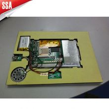 2013 New design lcd screen advertising special gift video in print lcd screen video player greeting card
