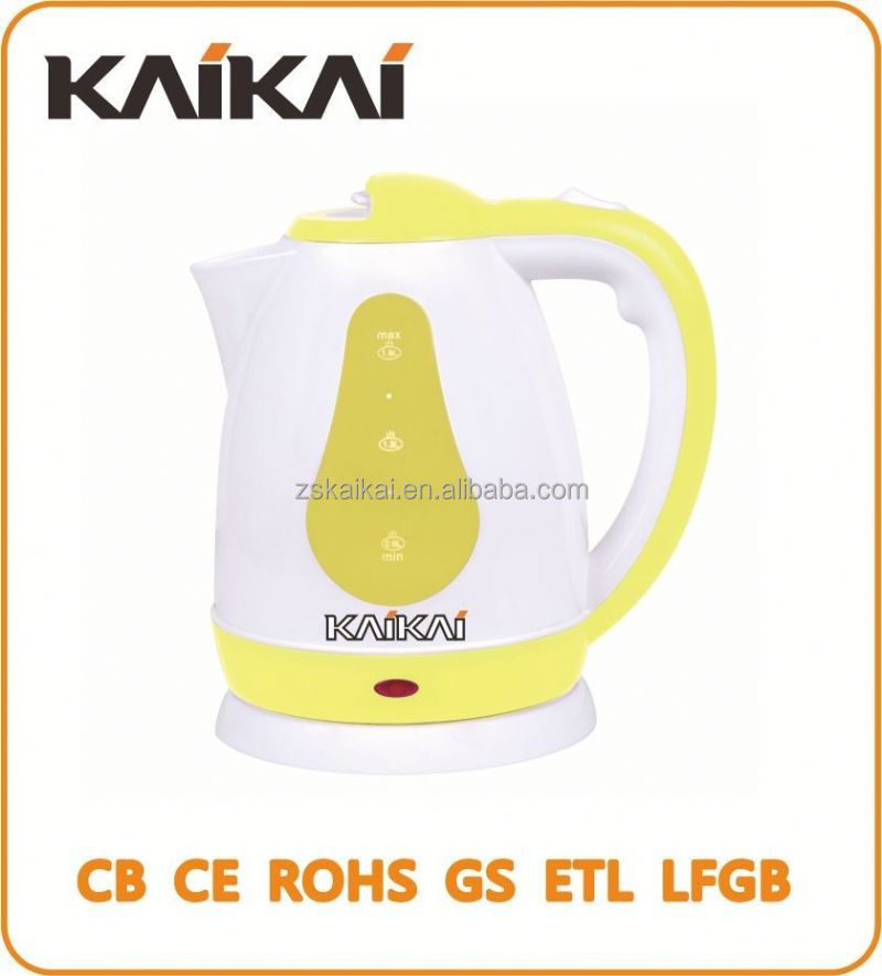 Hot model 1.8L powered glass tea kettle