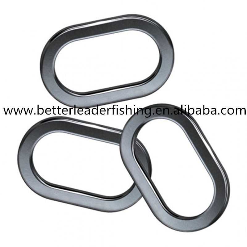 Fishing oval rig ring with nice shape