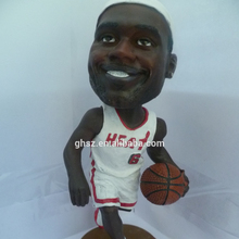Guohao toy 3d custom NBA player action figure ,sports figurine