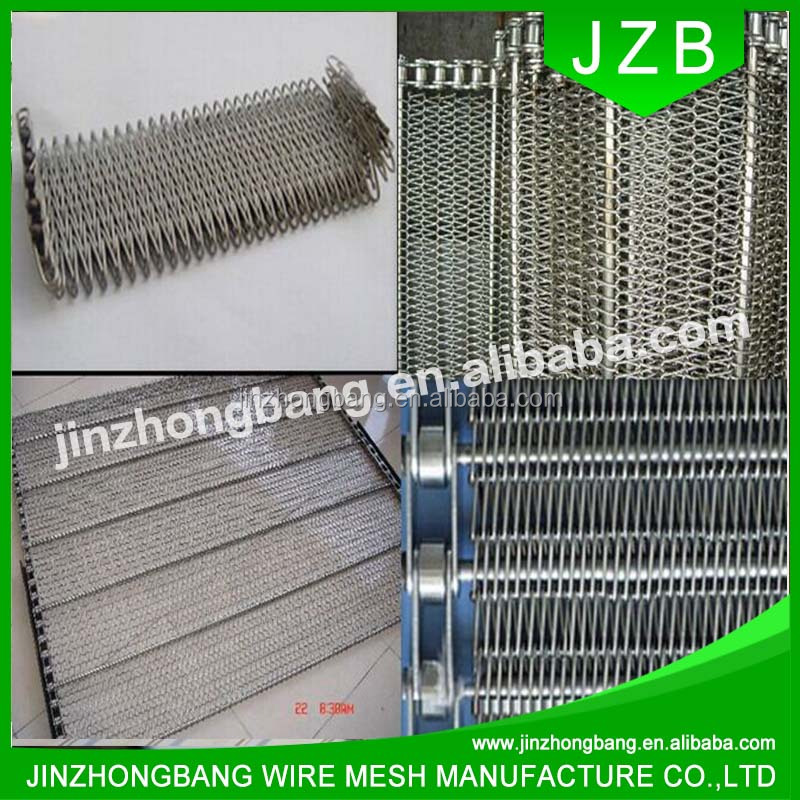 JZB stainless steel chain conveyor belt mesh
