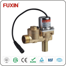 12V DC toilet flush auto faucet 2 way water normal close control electric actuator valve