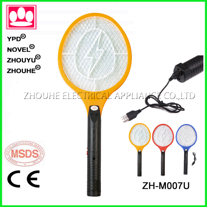 USB operated trap product rechargeable mosquito racket mosquito bat