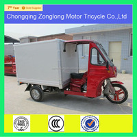 2014 good shape three wheeled motor scooters with closed cargo box