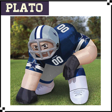 giant inflatable model, giant nfl inflatable player lawn figure for sale