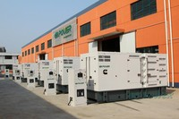 500KW soundproof genset with Cummins engine