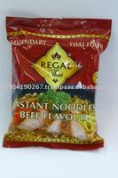 Instant Bag Noodles Beef Flavour (85 g) from Thailand