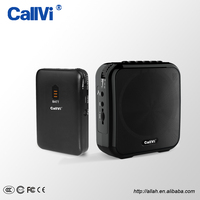 Callvi V-309 UHF Wireless TF Card Bluetooth Speakers and Loudspeaker with Microphone Transmitter