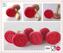 2015 wholesale silicone rubber stamp,custom silicone cookie stamp cookie cutter
