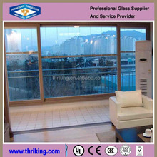 clear bulletproof windshield insulated glass panels for sale