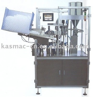 Tube Filling & Sealing Machine