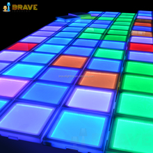 Lighting Interactive Outdoor Led Dance Floor Portable Led Dance Floor
