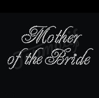 Mother Of The Bride Crystal Wholesale Bridal Rhinestone Appliques For Wedding Dress