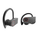 TWS with ear hook design high sound quality sports wireless stereo music bluetooth headsets