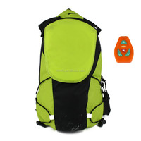 2016 China production high school student backpack waterproof backpack bag LED backpack