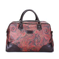 New Women Special Retro Design Leather Big Traveling Bag
