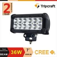 Guangzhou Tripcraft 36w 24 volt led light bar for trucks