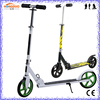 Custom Foldable Kick Scooter / Teen and Adult Cruiser Kick Scooter / 2 Wheels Hand Brake Kick Push Scooter Sale Cheap