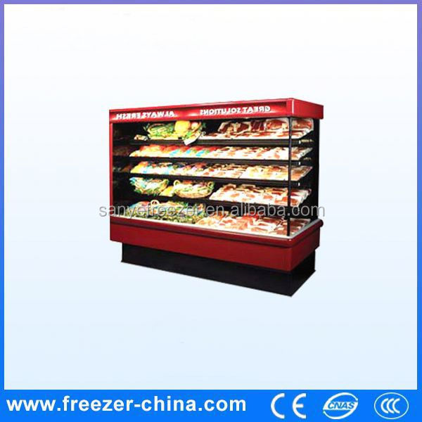 Air cooling wind curtain environmental protection bakery fridge