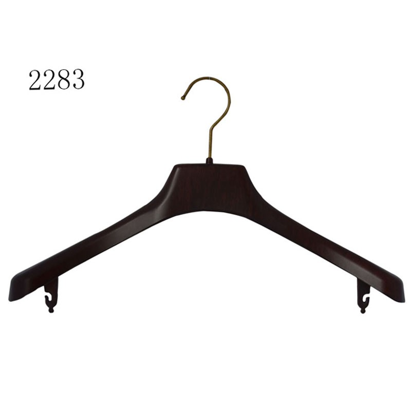 Custom Plastic Hanger For Coat Shopping Clothes Hanger With Bar