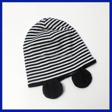 2016 Kids winter warm organic cotton hat baby caps and hats new design caps