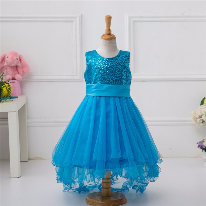 Bulk Wholesale Kids Beautiful Model Girl Party Wear Western Dress L9018