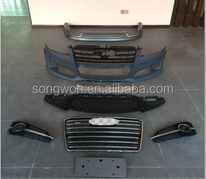 factory manufacturer for Au-di New S8 look car body kits