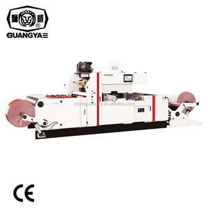 TYM1300 automatic non woven handle bag hot stamping foil machine
