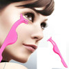 Eyelash Curler Eyelashes Clip False Fake stainless steel Eye Lash Beauty Makeup Cosmetic Tool Pink