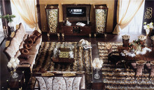 Italy Neoclassical Gothic Style Great Room Sofa Set, Brilliant Romantic Design Living Room Sofa Set, Gilt Carved Sofa Set