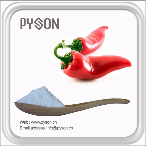 2016 high quality pure capsaicin extract